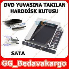 12.7 �N� NOTEBOOK DVD TO SSD KUTU YUVA SATA