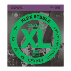 D'Addario FlexSteels EFX220 - Super Light Gauge