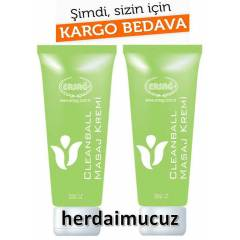 2 Adet Ersa� CleanBall Masaj Kremi 200 ml