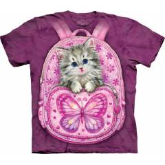 The Mountain 3D Tişört Backpack Kitty
