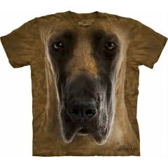 The Mountain 3D Tişört Great Dane Face