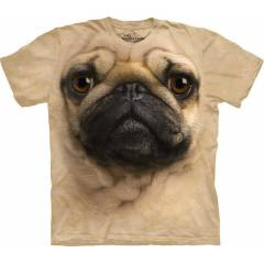 The Mountain 3D Tişört Pug Face