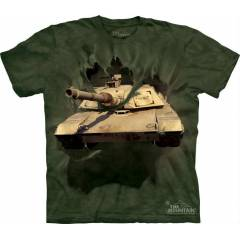 The Mountain 3D Tişört M1 Abrams Tank Break.
