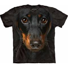 The Mountain 3D Tişört Daschund Face