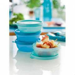 TUPPERWARE �EKER KAPLAR 4'l� set(4*300ml)KLAS�K