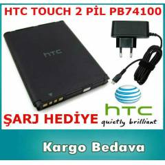 HTC TOUCH 2 BATARYA P�L PB74100 �ARJ ALET� HED�Y