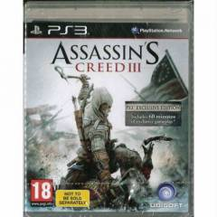 ASSASSINS CREED 3 EXCLUSIVE EDITION PS3 PAL