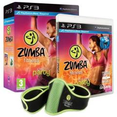 ZUMBA FITNESS JOIN PARTY PS3 OYUN + KEMER SIFIR