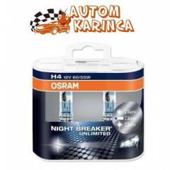Osram H4 Night Breaker Unlimited 2'li Set