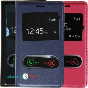 SAMSUNG 7560 GALAXY TREND KILIF - S-VIEW MODEL