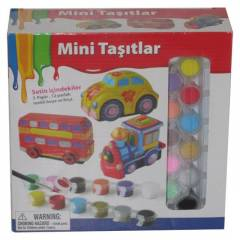 Mini Vehicle-Mini Ta��tlar Boya Seti