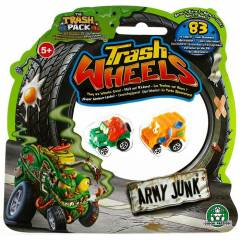 Trash Wheels ��ps Tekerler 2li Paket Army Junk 2