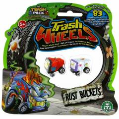 Trash Wheels ��ps Tekerler 2li Paket Rust Bucket