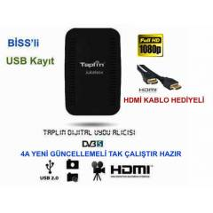 Taplin Full HD Mini Uydu Al�c�s� Biss'li