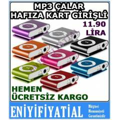 �arjl� mini MP3 Player-Mp3 �alar m�zik �alar