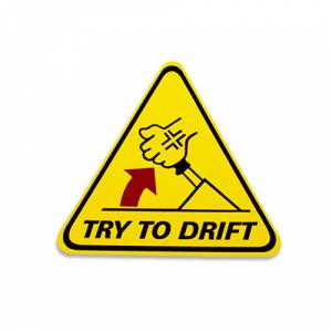 Drift El Freni Yaz� Araba Oto Sticker (11cm * 12