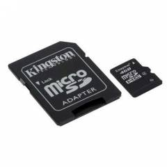 KINGSTON 4 GB M�CRO SD CARD (SD ADAPT�RL�)