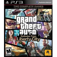 PS3 - Grand Theft Auto: Liberty City GTA 4