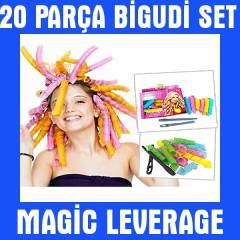 Magic Leverage Sa� �ekillendirici Bigudi Seti