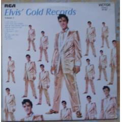 ELVİS PRESLEY LP-elvis' gold records-1959-fransa