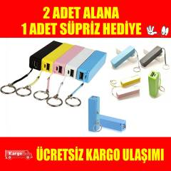 POWER BANK PORTAT�F HAR�C� BATARYA 2600 MAH