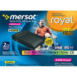 MERSAT ROYAL FULL HD M�N� UYDU NEXT �RET�M�