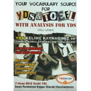 Your Vocabulary Source For YDS - TOEFL With Anal