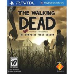 The Walking Dead The Complete First Ps Vita Oyun