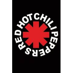RED HOT CHILI PEPPERS LOGO   MAXI POSTER İTHAL