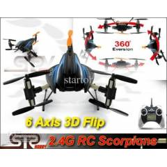 Scorpion 2,4Ghz QuadCopter Ters D�nen Kumandal�