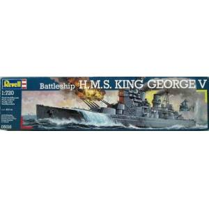 REVELL 05016 HMS KING GEORGE
