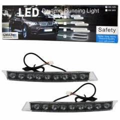 G�ND�Z LED� 9 LEDL� �AKAR SARI 24V TAKIM