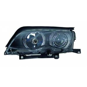BMW E46 98-01 2 Kap� Siyah Angel Eyes Far Eagle