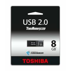 Toshiba 8Gb Siyah Mini Usb Flash Bellek
