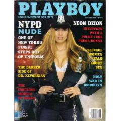 PLAYBOY AUGUST 1994 (�NG�L�ZCE EROT�K DERG�)