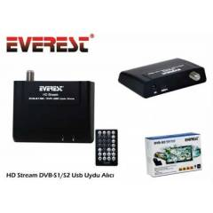Everest HD Stream DVB-S1/S2 Usb Uydu Al�c�