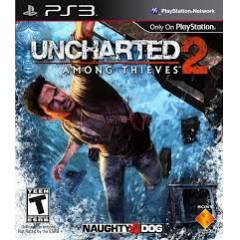 UNCHARTED 2 AMONG THIEVES Ps3 oyun