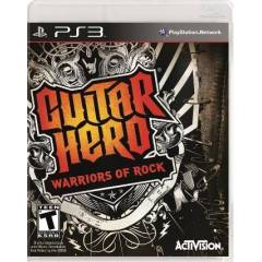 PS3 GUITAR HERO 6 WARRIORS OF ROCK