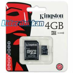 Kingston 4 GB Micro SD Haf�za Kart� 4GB MicroSD