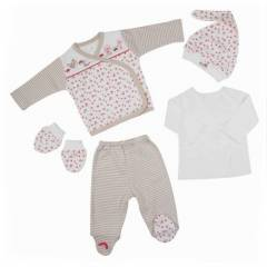 Bebepan 1476 Little S Bebek 5 li Set