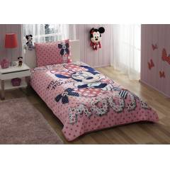 TA� DISNEY MINNIE MOUSE L�SANSLI YATAK �RT�S�