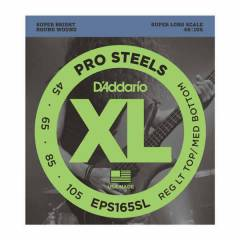 D'Addario EPS165SL ProSteels Bass, Custom Light