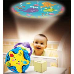Fisher Price M�zikli Deniz Y�ld�z� Projekt�r