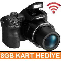 Samsung WB1100F 16.4MP HD W�F� Foto�raf Makinesi