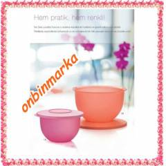 TUPPERWARE EKO KAP 2 L� SET - 2,5 LT ve 1.1 LT
