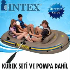 INTEX 68319 Bot Seti Excursion 3 Pompa+K�rekler