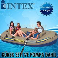 INTEX 68324 Bot Seti Excursion 4 Pompa+K�rekler