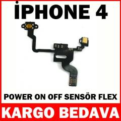 �phone 4 Power Sens�r Film Flex Kablosu