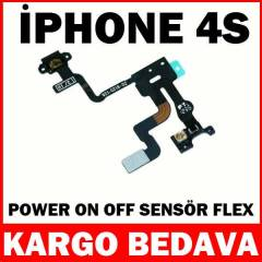 �phone 4S Power Sens�r Film Flex Kablosu