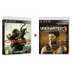 CRYS�S 3 - UNCHARTED 3 T�RK�E PS3 OYUNLARI+SIFIR